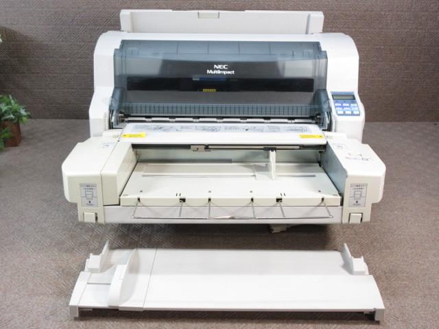 NEC / ドットプリンタ MultiImpact 700XX2N / シートフィーダ(PR-D700XX) 前後トレイ付 / No.E203_画像1