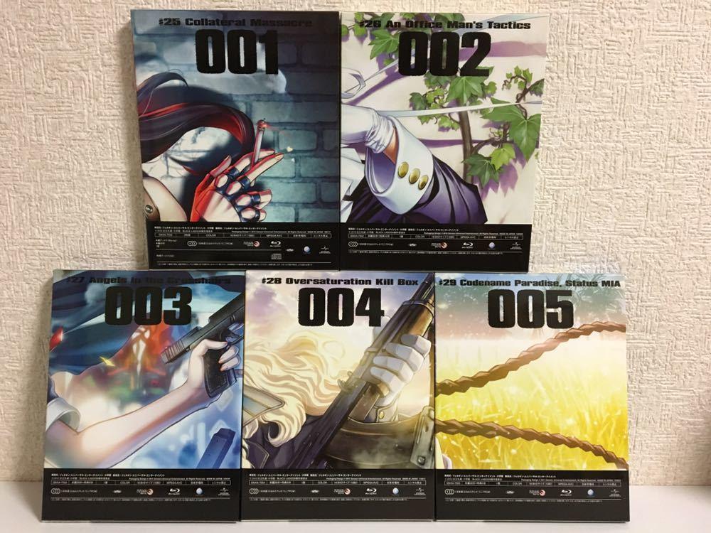 アニメ Blu-ray ブラックラグーン OVA 5巻セット_画像2