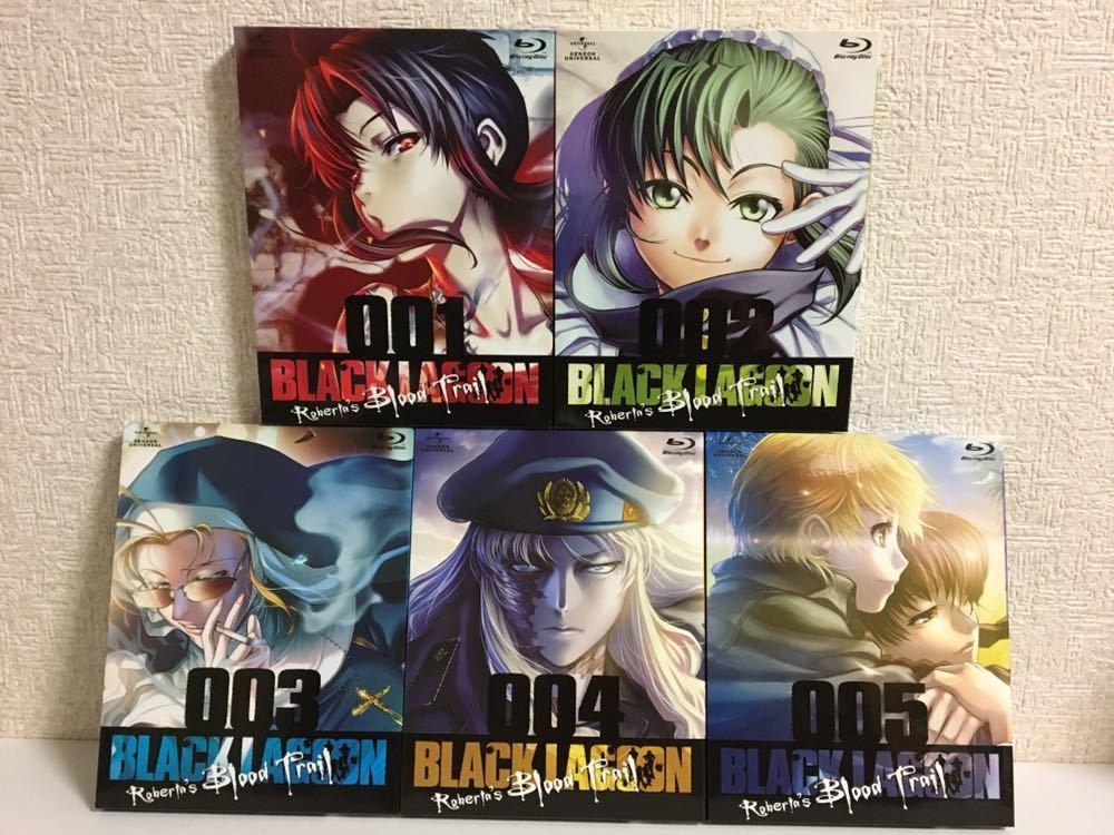 アニメ Blu-ray ブラックラグーン OVA 5巻セット