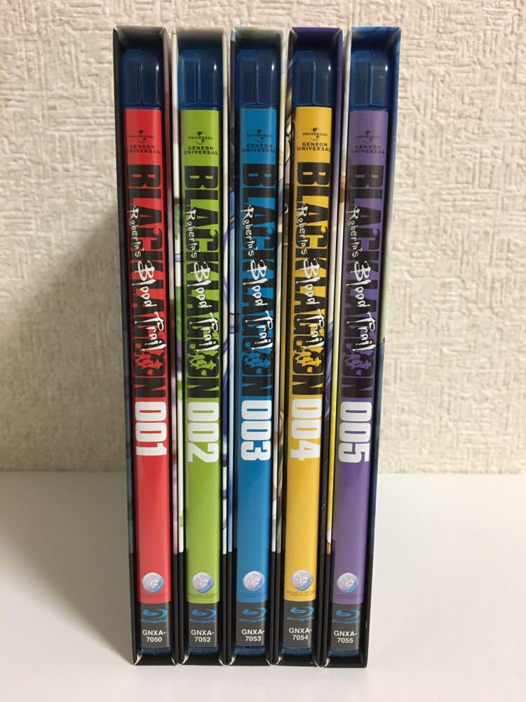 アニメ Blu-ray ブラックラグーン OVA 5巻セット_画像3