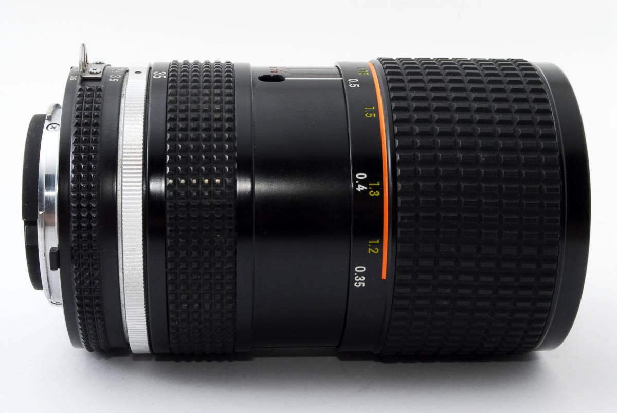 【即決!】ニコン Nikon Zoom Nikkor 35-70/3.5 Ai-S Ais lens ズーム レンズ ジャンク品 部品取り用 #332_画像9