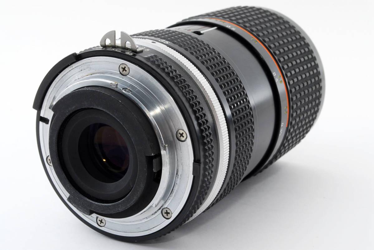 【即決!】ニコン Nikon Zoom Nikkor 35-70/3.5 Ai-S Ais lens ズーム レンズ ジャンク品 部品取り用 #332_画像5