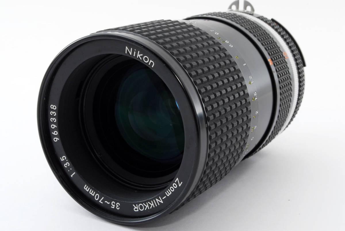 【即決!】ニコン Nikon Zoom Nikkor 35-70/3.5 Ai-S Ais lens ズーム レンズ ジャンク品 部品取り用 #332_画像2