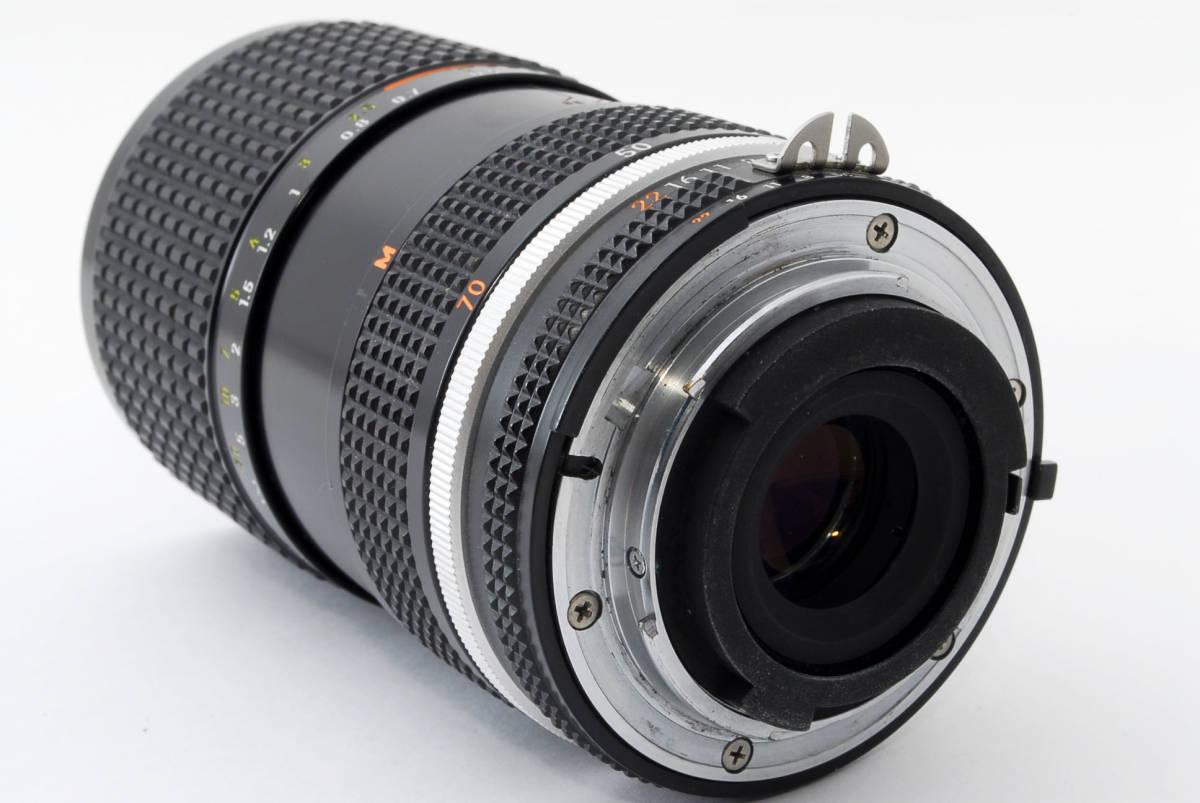 【即決!】ニコン Nikon Zoom Nikkor 35-70/3.5 Ai-S Ais lens ズーム レンズ ジャンク品 部品取り用 #332_画像7