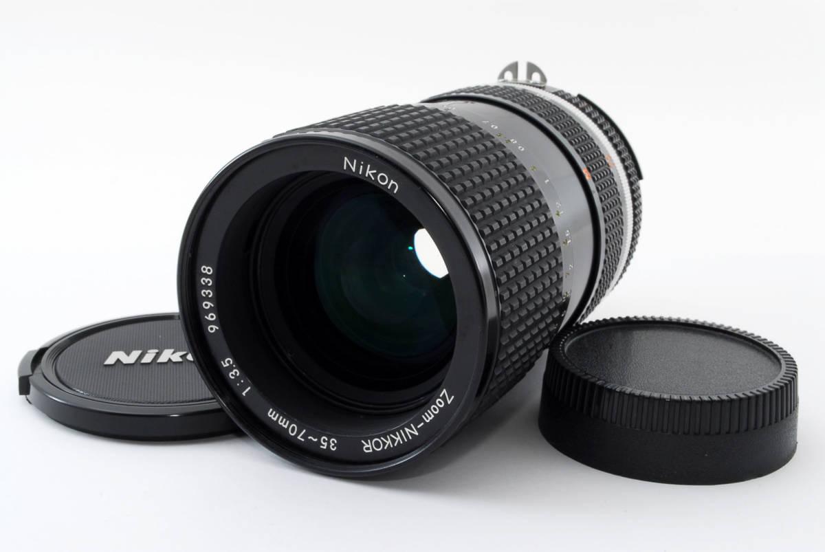 【即決!】ニコン Nikon Zoom Nikkor 35-70/3.5 Ai-S Ais lens ズーム レンズ ジャンク品 部品取り用 #332_画像1