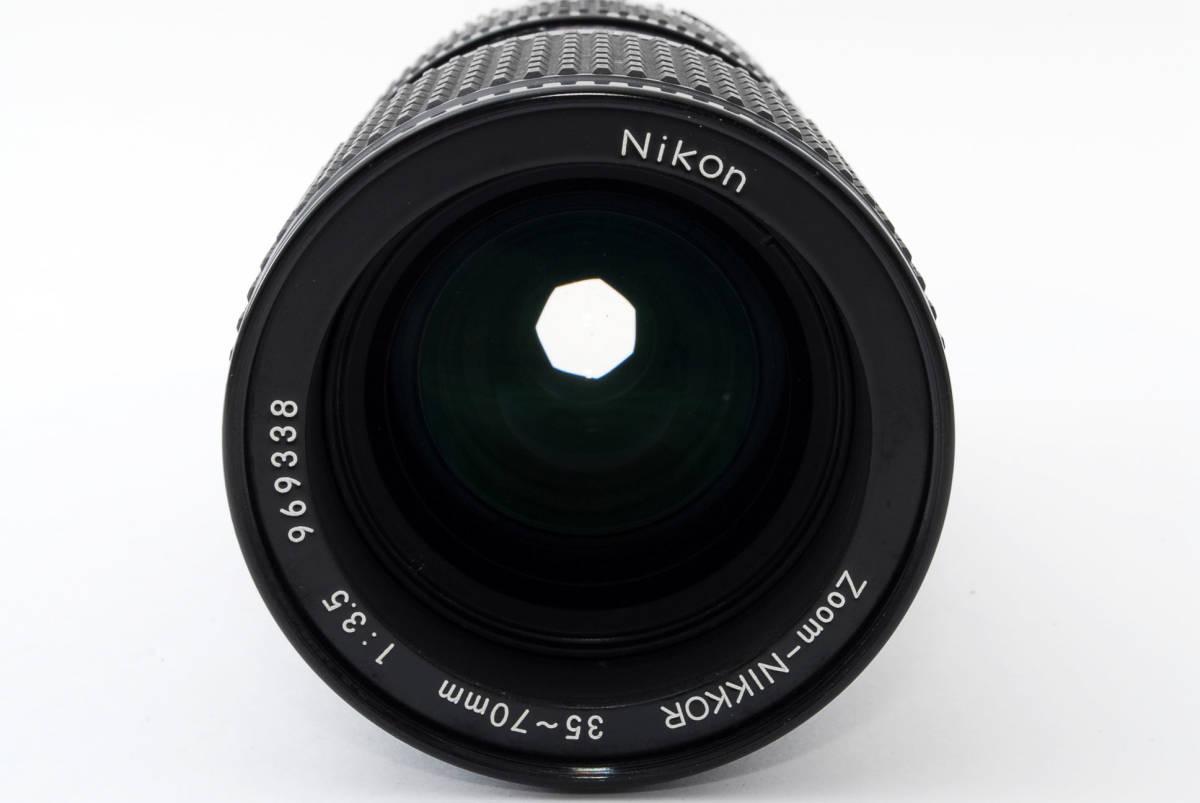 【即決!】ニコン Nikon Zoom Nikkor 35-70/3.5 Ai-S Ais lens ズーム レンズ ジャンク品 部品取り用 #332_画像3