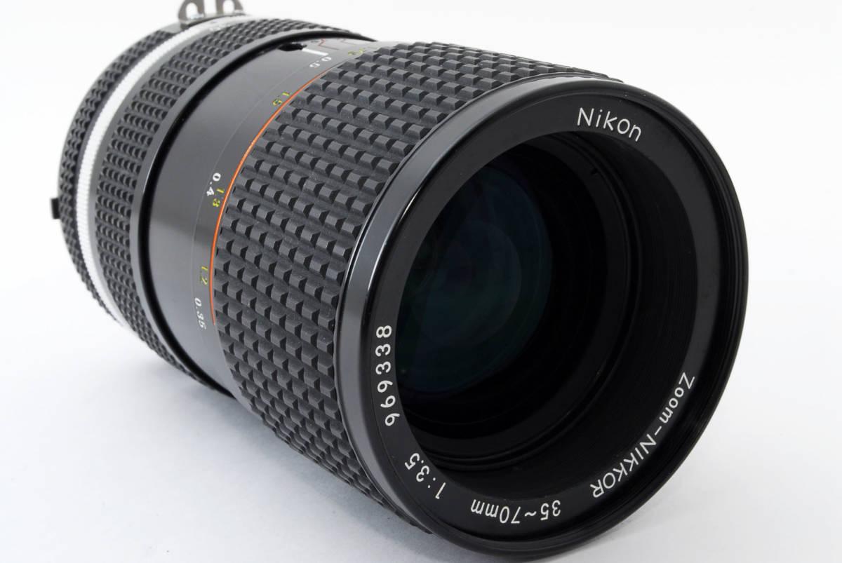 【即決!】ニコン Nikon Zoom Nikkor 35-70/3.5 Ai-S Ais lens ズーム レンズ ジャンク品 部品取り用 #332_画像4