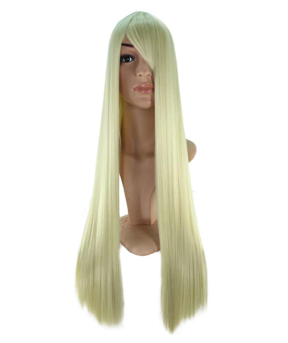 Immediate disposal! Cheap! First come, first served! Cosplay Wig*Wigs2you☆PLATINUM BLONDE*C-017*Halloween*long/platinum blonde*straight*blonde