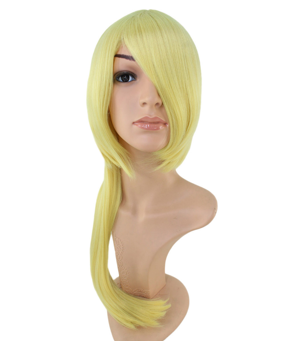 Prompt decision disposition! Cheap! First come, first served! Cosplay wig * Pearl yellow * Wigs 2 you ☆ C-046 * Edward style / Hagaren * blonde * heat resistant