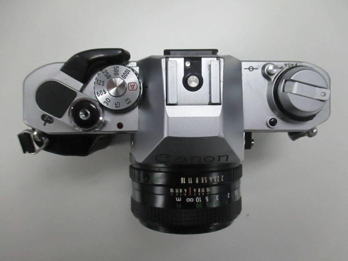 CANON キャノン AL-1 キャノンレンズFD 50mm 1:2 ジャンク品 鈴_画像2