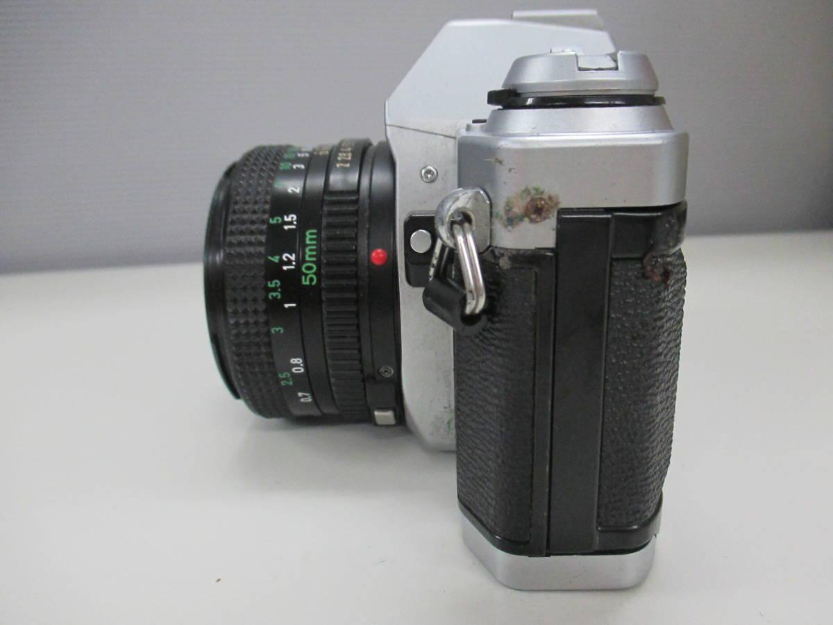 CANON キャノン AL-1 キャノンレンズFD 50mm 1:2 ジャンク品 鈴_画像3