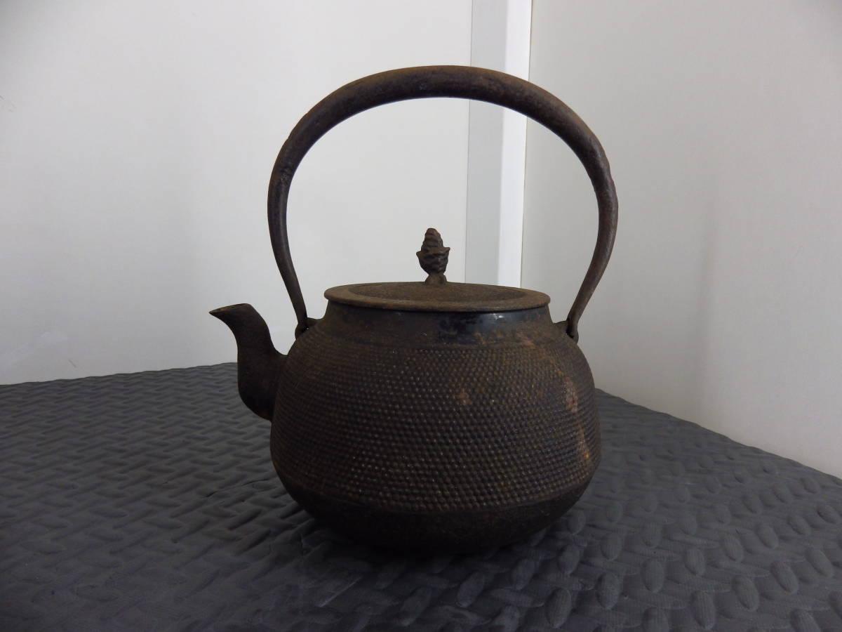 南部盛岡 三巌堂 鉄瓶 茶道具_画像3