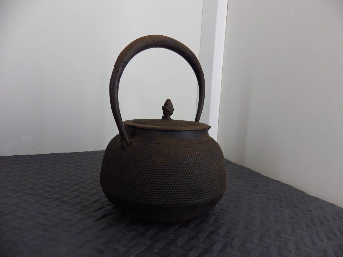 南部盛岡 三巌堂 鉄瓶 茶道具_画像6