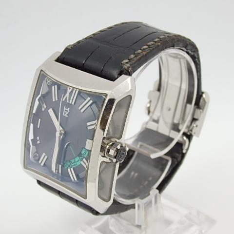 G16793 ミナセ MINASE VY03-K07S オートマ シースルーバック 純正ベルト劣化 腕時計【可動中】