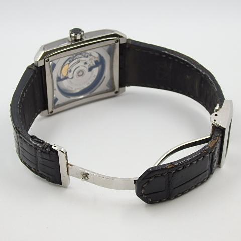 G16793 ミナセ MINASE VY03-K07S オートマ シースルーバック 純正ベルト劣化 腕時計【可動中】_画像8