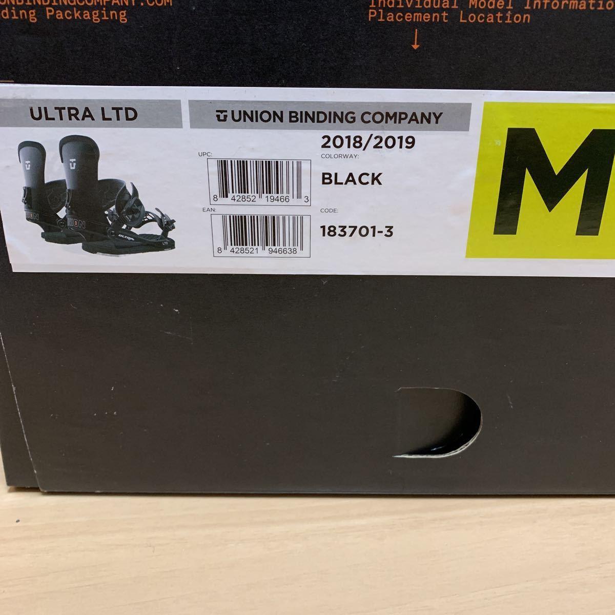 新品 UNION ULTRA LTD Mサイズ 18-19 日本限定モデル/スノーボード ビンディング バインディング ユニオン ウルトラ burton malavita_画像7