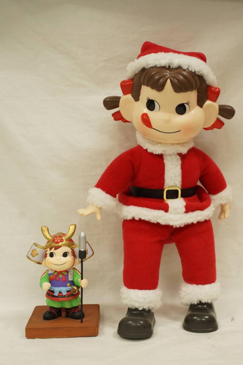 ♥♥#7792 【ぺこぽこ】 ペコちゃん人形&ポコちゃん陶器置物♥♥