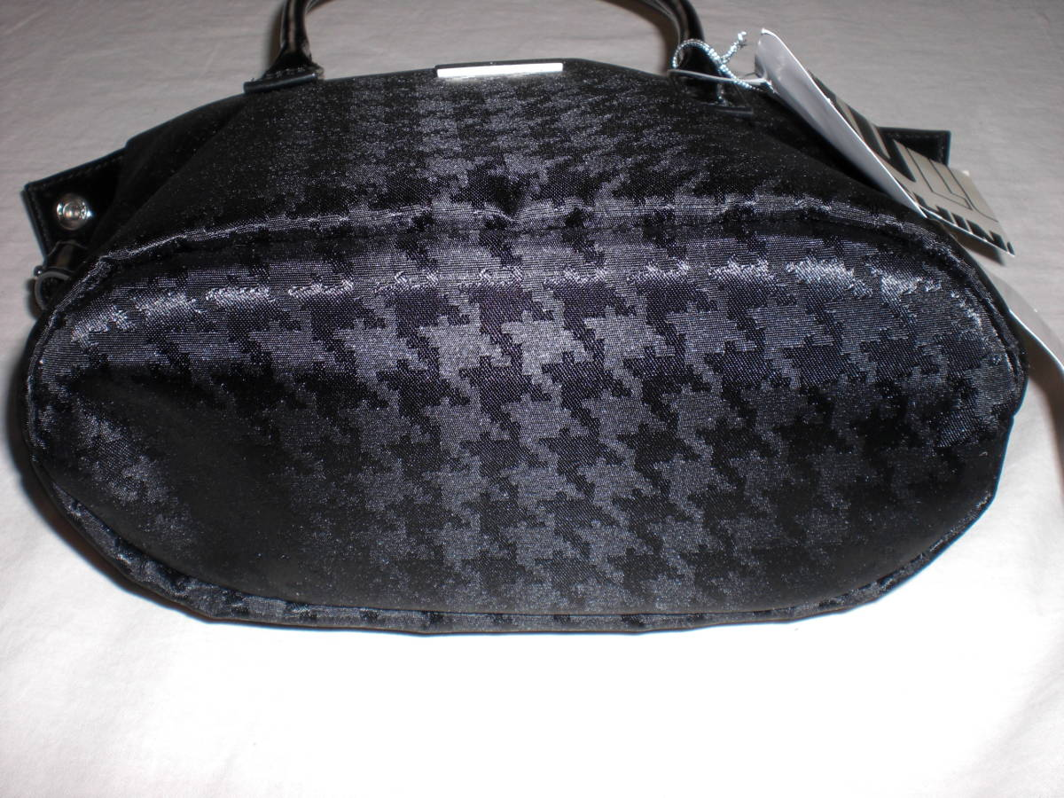 MICHIKO LONDONミチコロンドン・レディス 黒 手提げバッグ 未使用タグ付_画像5
