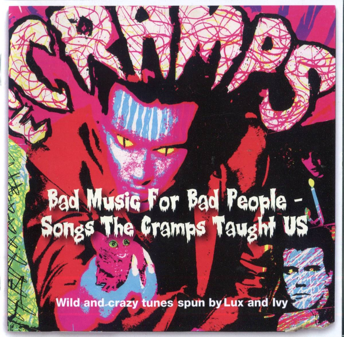 ■cd bad music for bad people - songs the cramps taught us ( righteous ) _画像1
