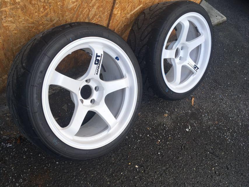 ADVAN Racing GT アドバンGT 2本 A050付き 114.5_画像2
