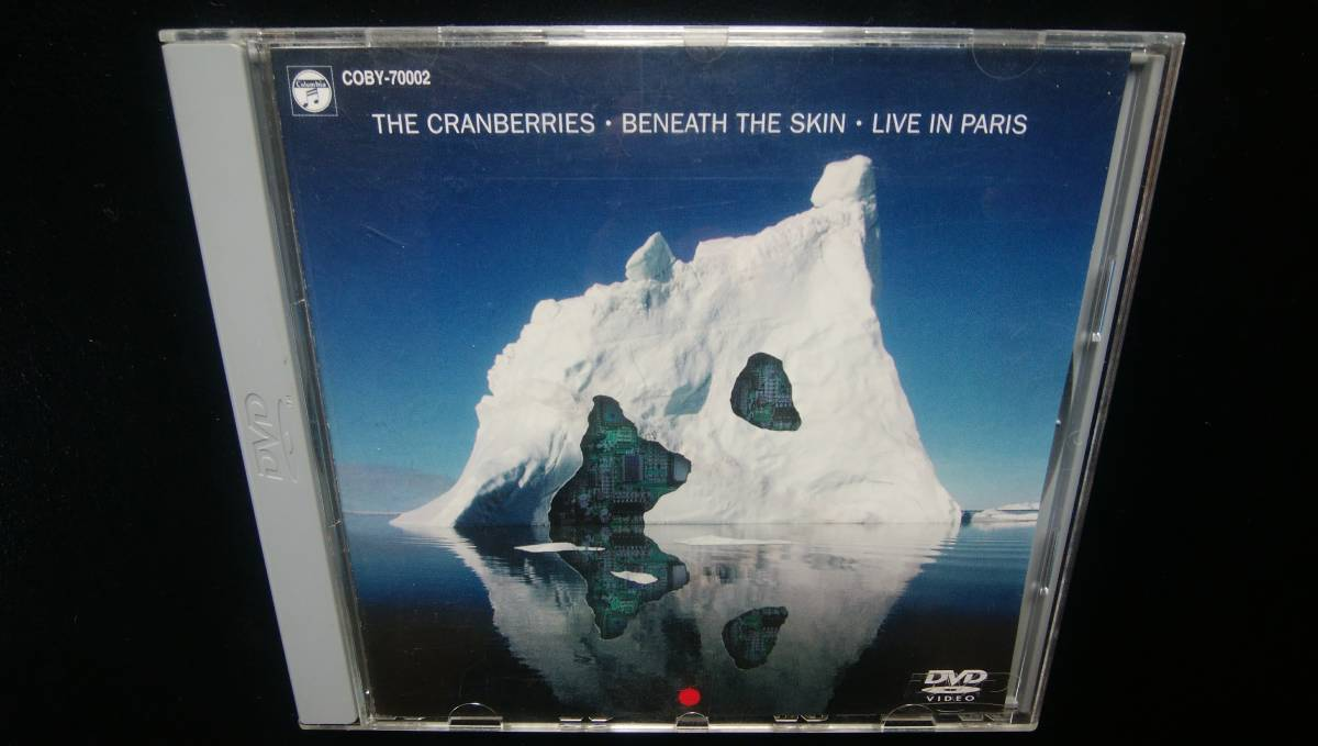 Cranberries ミレニアム ライブ イン パリ 国内盤 - クランベリーズ BENEATH THE SKIN Live in Paris DVD / Dolores ドロレス オリオーダン