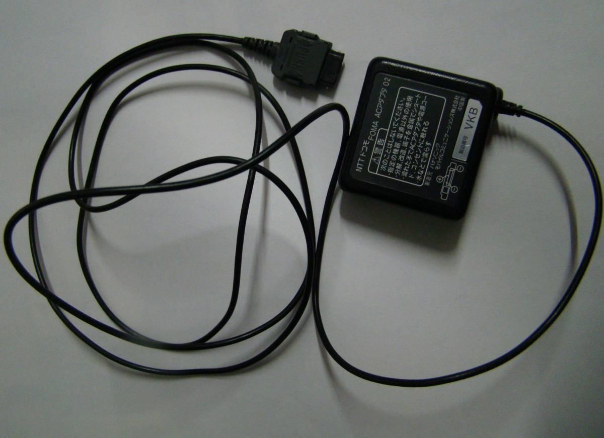 現状品  F-01E 携帯電話 docomo/富士通  ACアダプター付 ブラック イタミあり _画像4