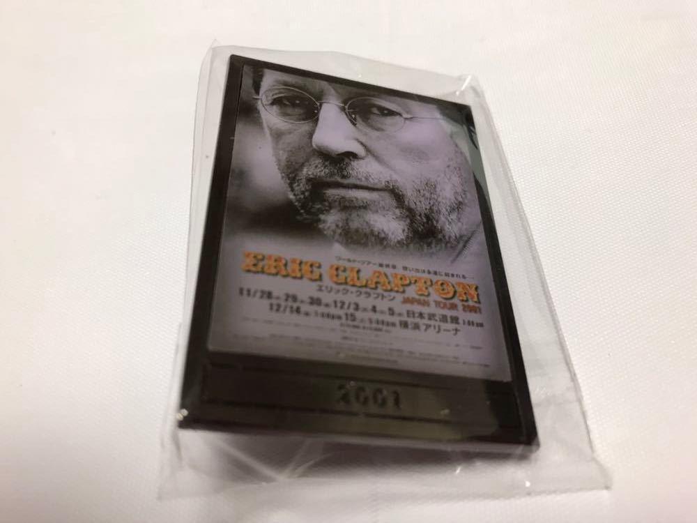 エリック クラプトン 2019 LIVE at BUDOKAN 武道館 Eric Clapton ガチャピンバッジ 2001 新品 グッズ
