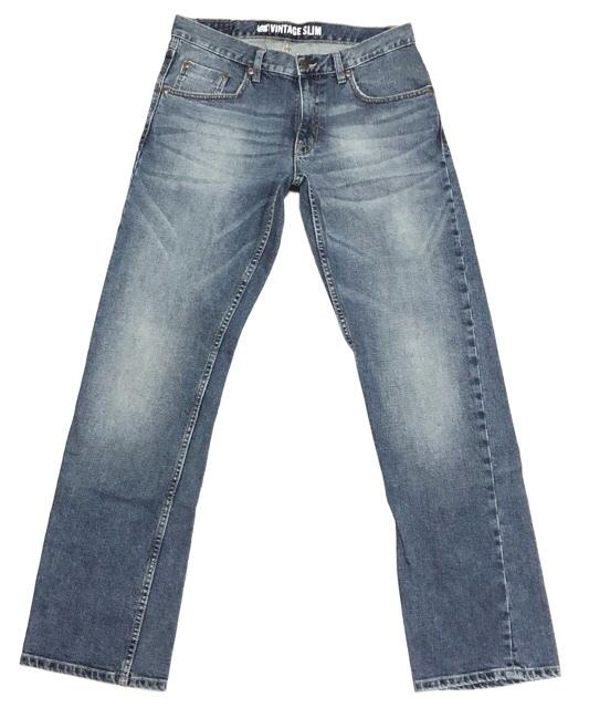 即決 Lee DUNGAREES リー ダンガリーズ ジーンズ ジーパン デニムパンツ メンズ W31 ウエスト約85cm 大きいサイズ スリム Lサイズ相当_画像2