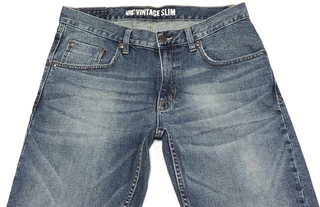 即決 Lee DUNGAREES リー ダンガリーズ ジーンズ ジーパン デニムパンツ メンズ W31 ウエスト約85cm 大きいサイズ スリム Lサイズ相当_画像6