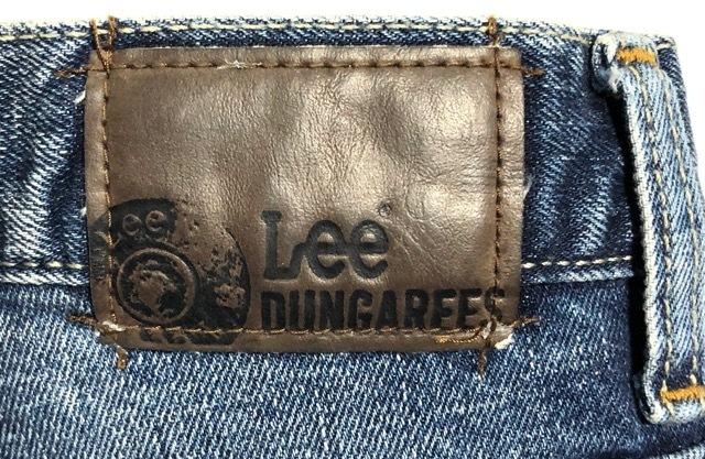 即決 Lee DUNGAREES リー ダンガリーズ ジーンズ ジーパン デニムパンツ メンズ W31 ウエスト約85cm 大きいサイズ スリム Lサイズ相当_画像5