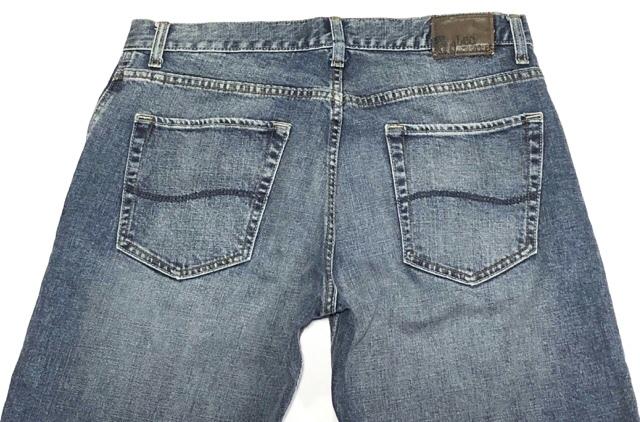 即決 Lee DUNGAREES リー ダンガリーズ ジーンズ ジーパン デニムパンツ メンズ W31 ウエスト約85cm 大きいサイズ スリム Lサイズ相当_画像4