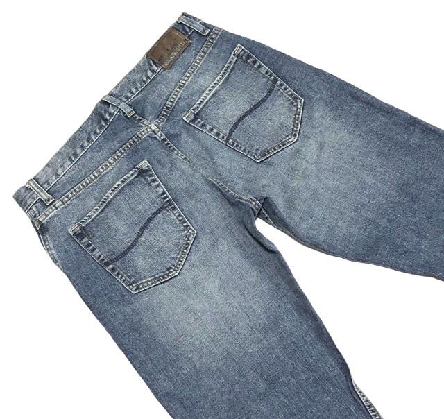 即決 Lee DUNGAREES リー ダンガリーズ ジーンズ ジーパン デニムパンツ メンズ W31 ウエスト約85cm 大きいサイズ スリム Lサイズ相当_画像1