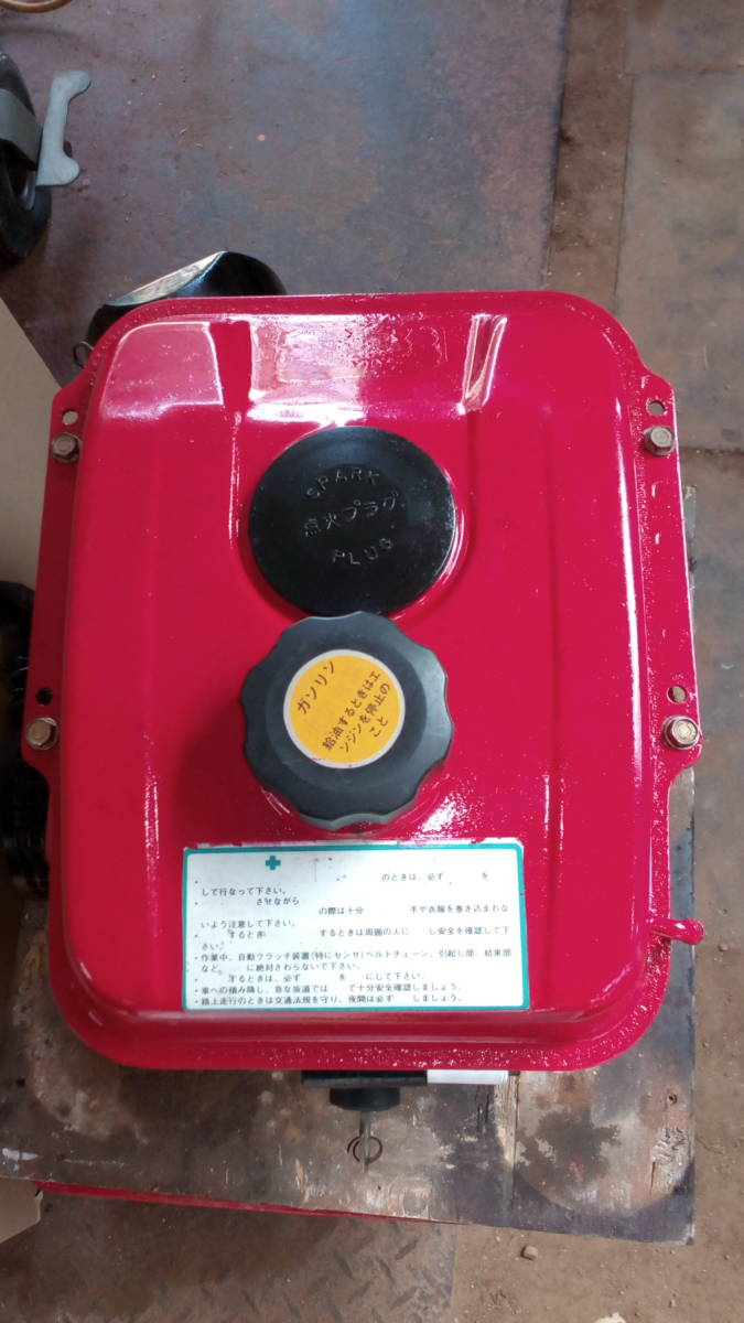 カワサキエンジン FG230G 5.8馬力 セル付き _画像5