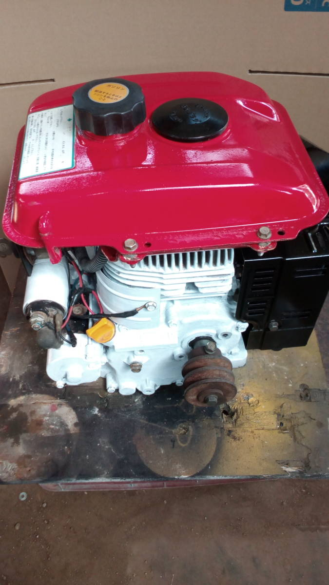 カワサキエンジン FG230G 5.8馬力 セル付き _画像4