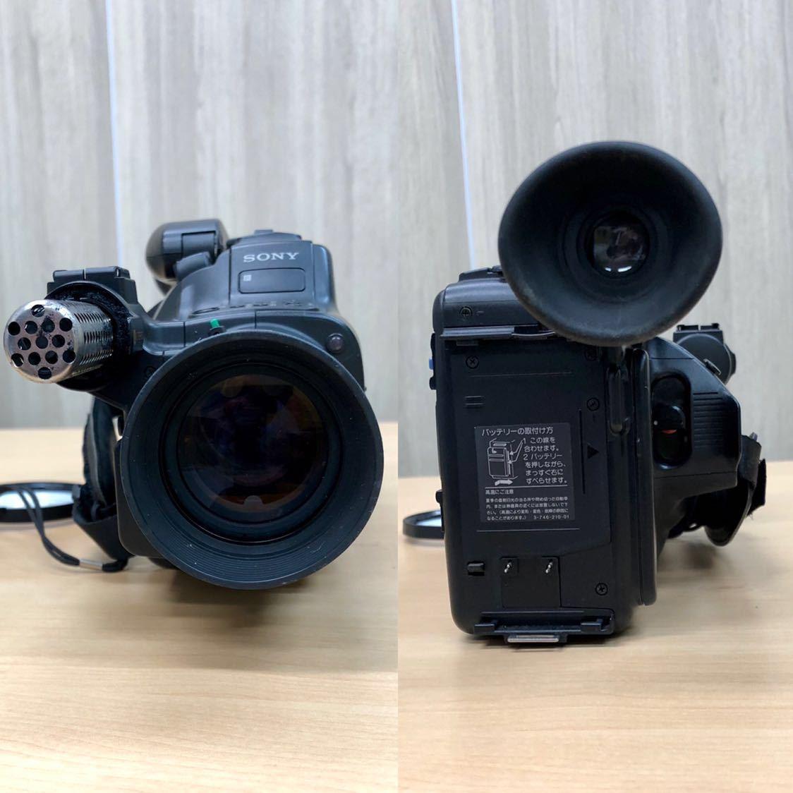 ジャンク品 SONY ソニー video Hi8 Handycam 2点おまとめ / CCD-VX1・CCD-V700_画像8