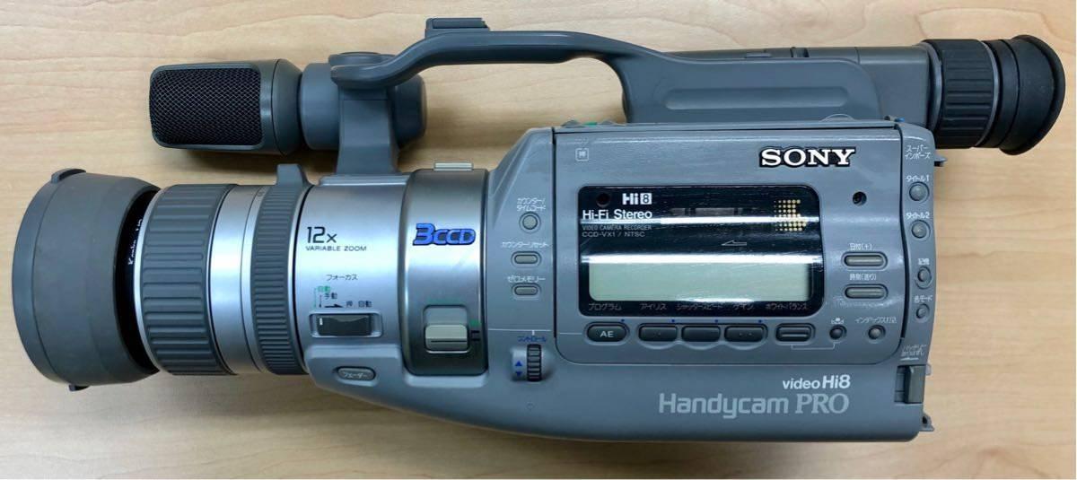 ジャンク品 SONY ソニー video Hi8 Handycam 2点おまとめ / CCD-VX1・CCD-V700_画像2