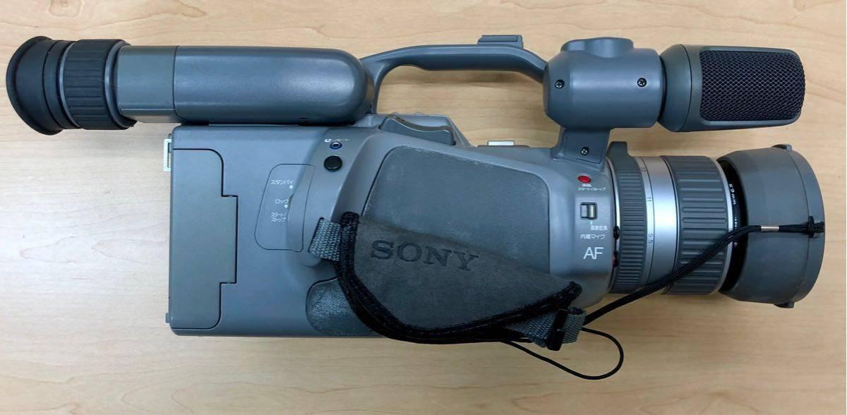 ジャンク品 SONY ソニー video Hi8 Handycam 2点おまとめ / CCD-VX1・CCD-V700_画像3