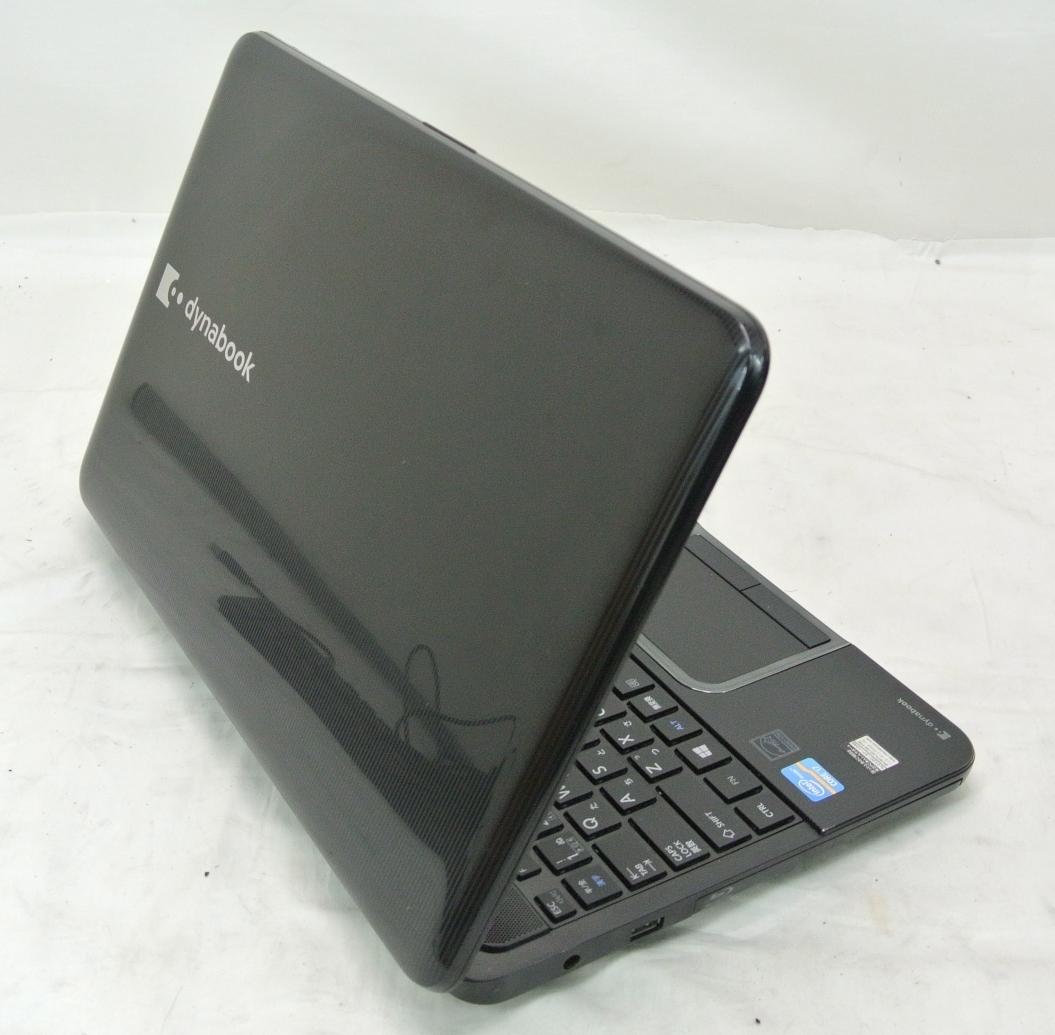 爆速SSD500G仕様 TOSHIBA T552/58HB 黒/i7-3630QM/8G/新SSD500G/ブルーレイRE/無線・USB3.0/Win10/office2016/ゲーム・映画・事務作業_画像9