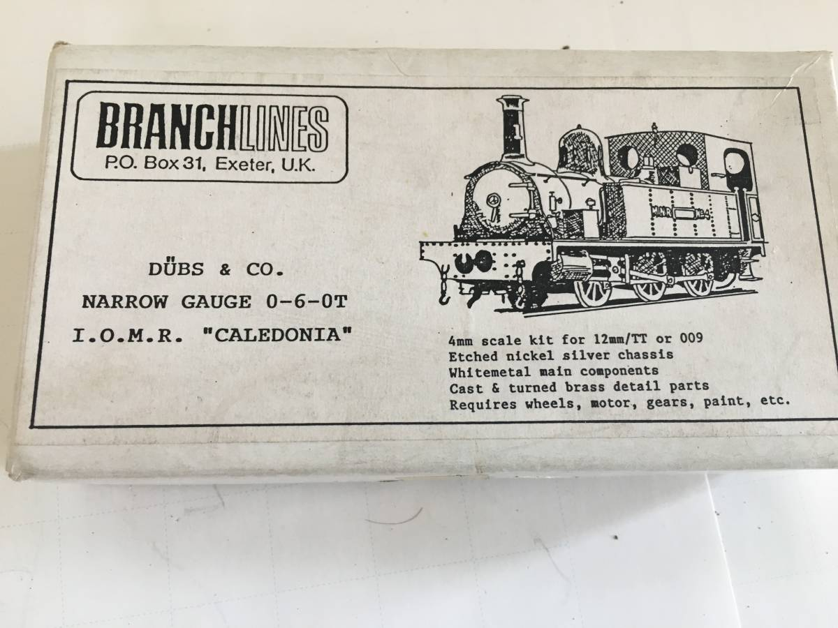 BRANCHLINES DUBS & CO. NARROW GAUGE 0-6-0T I.O.M.R.