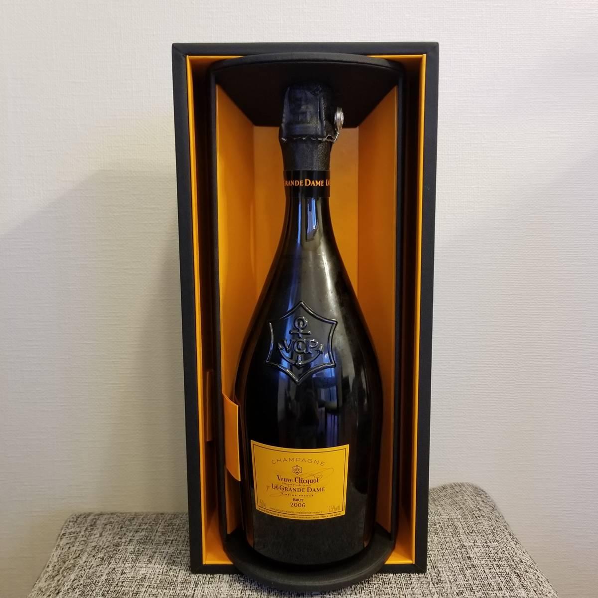 ヴーヴ クリコ ラ グランダム 2006 VEUVE CLICQUOT ブーブクリコ 箱付き シャンパン 750ml