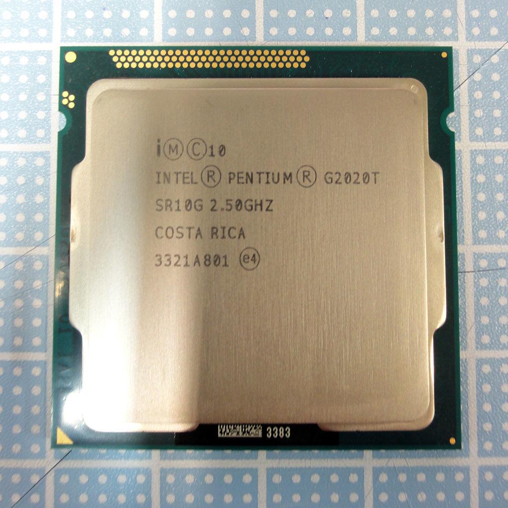 【中古動作品】Pentium G2020T / 2.5GHz / LGA1155 / Ivy Bridge