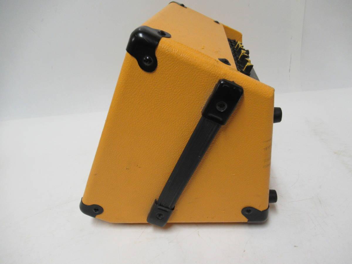 管A871  CRATE TX30J 充電式アンプ_画像4