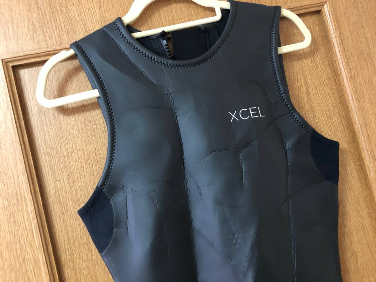 サーフィン ウェットスーツ エクセル XCEL NEO CLASSIC LTD バックジップ ロングジョン2㎜ ラバースキン XL_画像9
