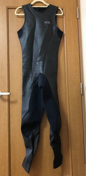 サーフィン ウェットスーツ エクセル XCEL NEO CLASSIC LTD バックジップ ロングジョン2㎜ ラバースキン XL