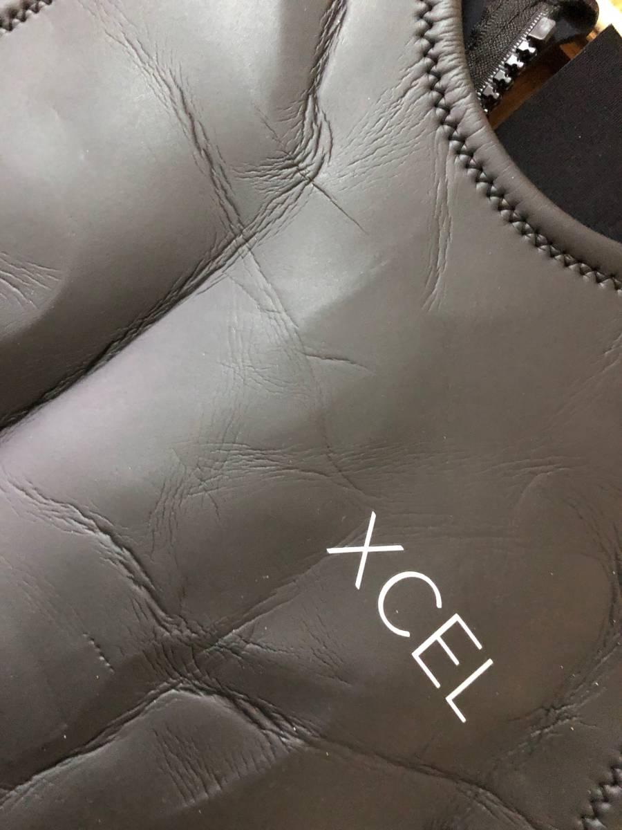 サーフィン ウェットスーツ エクセル XCEL NEO CLASSIC LTD バックジップ ロングジョン2㎜ ラバースキン XL_画像6