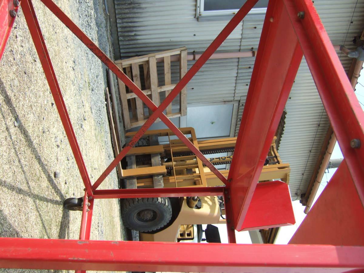 SATU41 農機具の運搬台車 動噴など トラック積込みに 保管台車 移動台車 中古 引取で_画像9