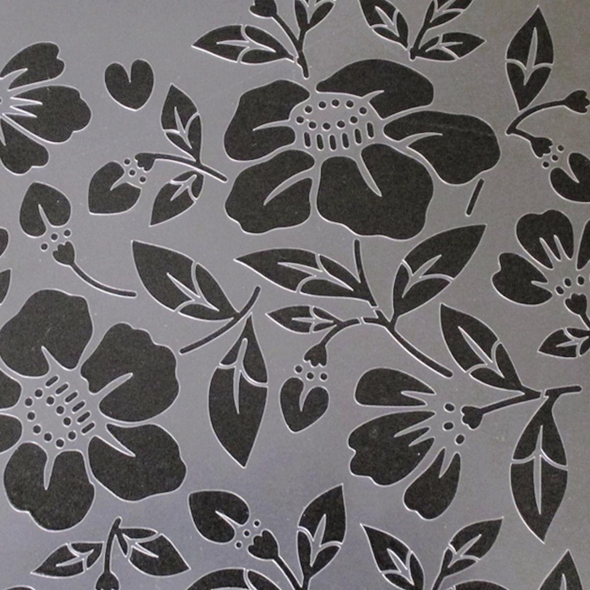 椿 Flowerset⑦番  ステンシルシート 型紙図案 NO537_画像4