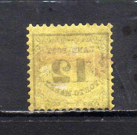 ヤフオク! - 194036 ドイツ領邦バーデン 1862年 不足料切手 ...