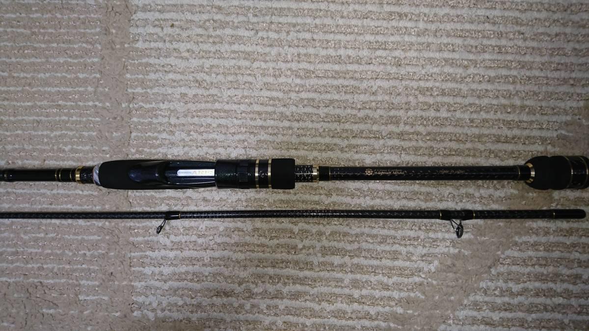 ARES アレス LESTER レスター 夢墨 Boron ボロン 8.3 ML 美品 定価74000円 スクイッドマニア 4軸カーボン エギング 春イカに_画像2
