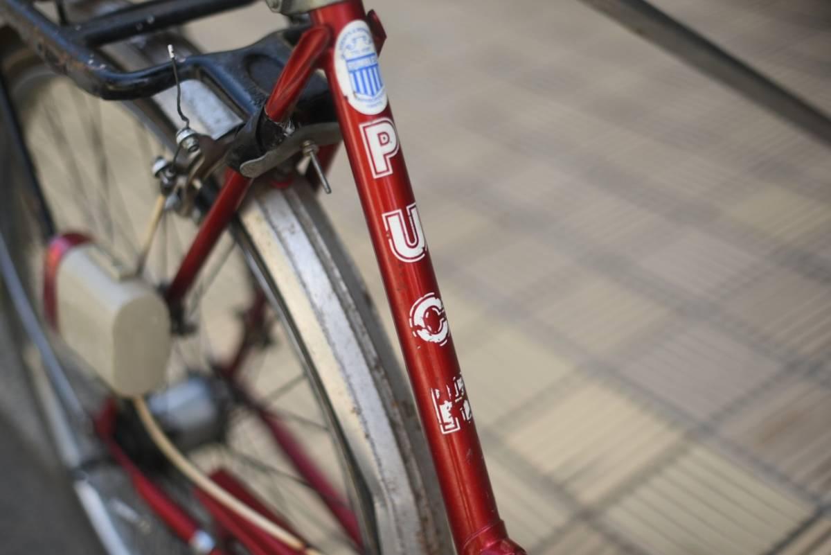 102854 ヴィンテージ 自転車 1978年製「PUCH TALEDO」プフ オーストリアレトロ ビンテージ  クラシック イギリス パシュレイ 東京杉並_画像4